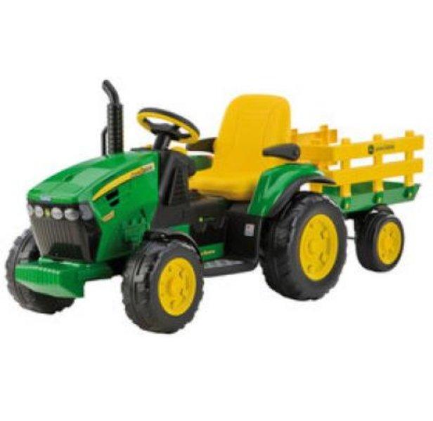 Lasten akkukäyttöinen traktori