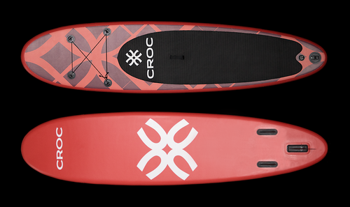 SUP-lauta Croc Berry Red