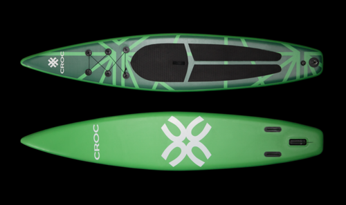 SUP-lauta Croc Race Lime
